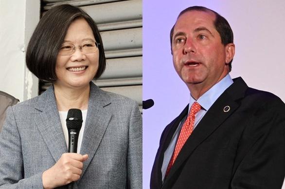 Bộ trưởng Mỹ thăm Đài Loan: Mỹ lại chọc giận Trung Quốc - Ảnh 1.