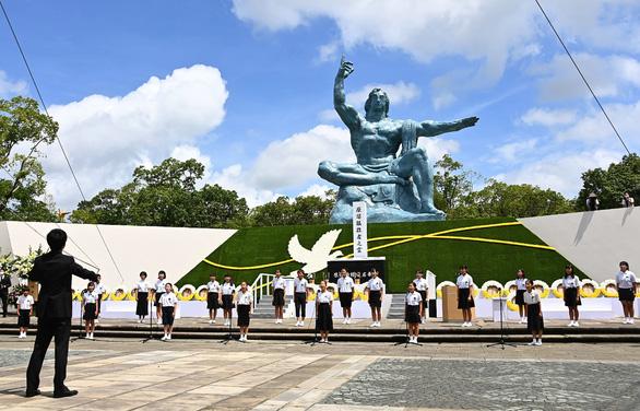 Nagasaki tổ chức tưởng niệm 75 năm thảm họa bom nguyên tử - Ảnh 3.
