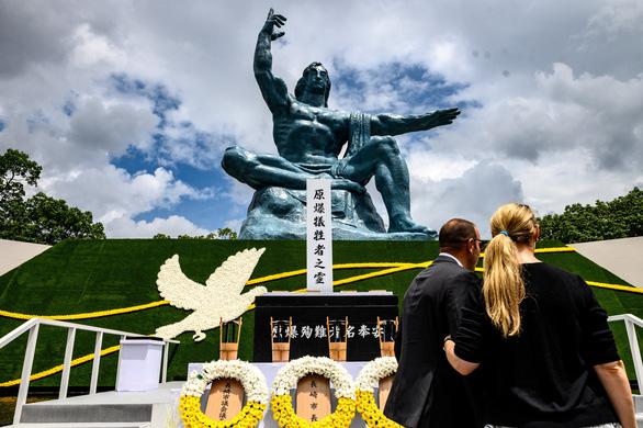 Nagasaki tổ chức tưởng niệm 75 năm thảm họa bom nguyên tử - Ảnh 2.