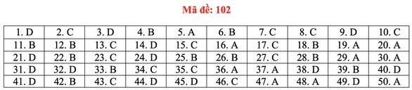 Gợi ý bài giải môn toán thi tốt nghiệp THPT 2020 - đủ 24 mã đề - Ảnh 7.