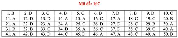 Gợi ý bài giải môn toán thi tốt nghiệp THPT 2020 - đủ 24 mã đề - Ảnh 12.