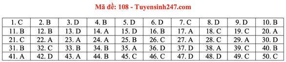 Gợi ý bài giải môn toán thi tốt nghiệp THPT 2020 - Ảnh 12.