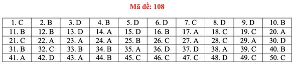 Gợi ý bài giải môn toán thi tốt nghiệp THPT 2020 - đủ 24 mã đề - Ảnh 13.