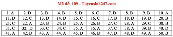 Gợi ý bài giải môn toán thi tốt nghiệp THPT 2020 - Ảnh 13.