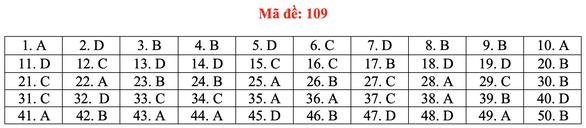 Gợi ý bài giải môn toán thi tốt nghiệp THPT 2020 - đủ 24 mã đề - Ảnh 14.
