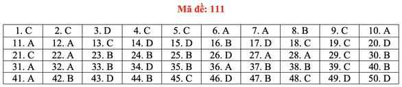 Gợi ý bài giải môn toán thi tốt nghiệp THPT 2020 - đủ 24 mã đề - Ảnh 16.