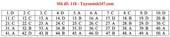 Gợi ý bài giải môn toán thi tốt nghiệp THPT 2020 - Ảnh 21.