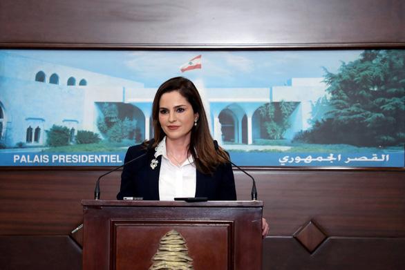 Bộ trưởng thông tin Lebanon từ chức sau vụ nổ ở Beirut - Ảnh 1.