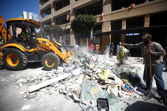 Bộ trưởng thông tin Lebanon từ chức sau vụ nổ ở Beirut - Ảnh 2.