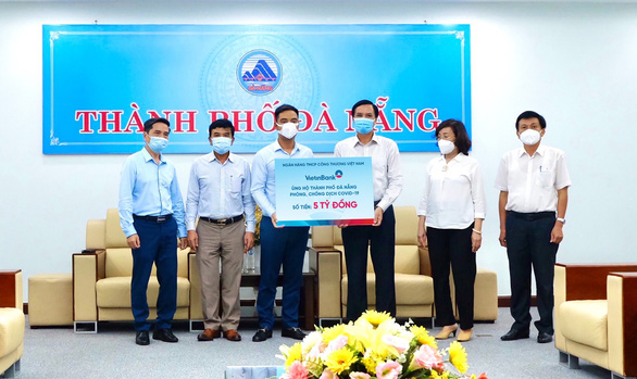 VietinBank ủng hộ Đà Nẵng, Quảng Nam 10 tỉ đồng chống dịch COVID-19 - Ảnh 1.