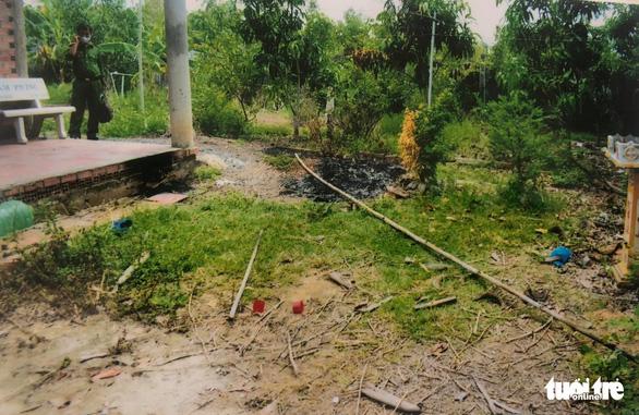 Con rể vay tiền không trả lãi, mẹ vợ bị đào mộ đốt hài cốt - Ảnh 1.