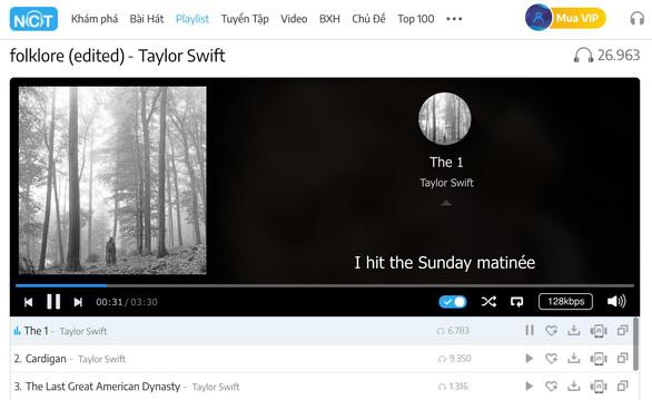 Album kỳ lạ của Taylor Swift lập nhiều thành tích đáng nể - Ảnh 2.