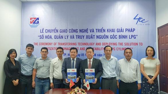 SOPET Gas One - Số hóa, quản lý và truy xuất nguồn gốc bình Gas - Ảnh 3.