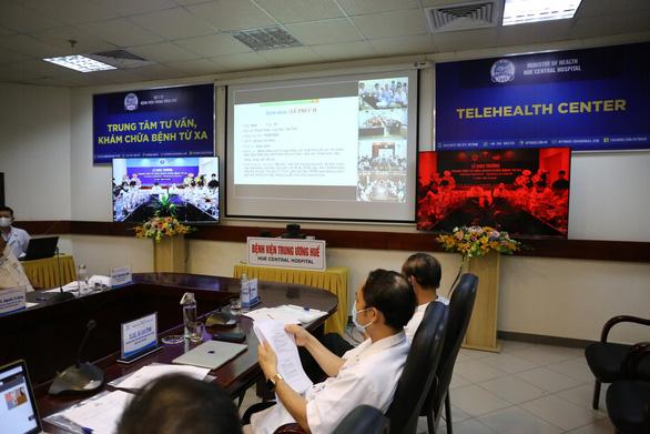 Khánh thành Trung tâm tư vấn khám chữa bệnh từ xa tại bệnh viện Trung ương Huế - Ảnh 2.