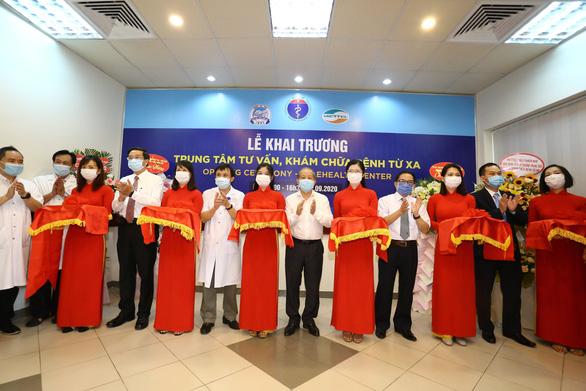 Khánh thành Trung tâm tư vấn khám chữa bệnh từ xa tại bệnh viện Trung ương Huế - Ảnh 1.