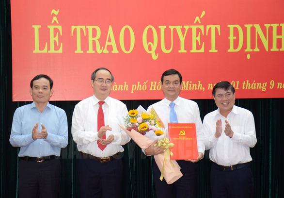 Chỉ định giám đốc Công an TP.HCM vào Ban thường vụ Thành ủy TP.HCM - Ảnh 1.