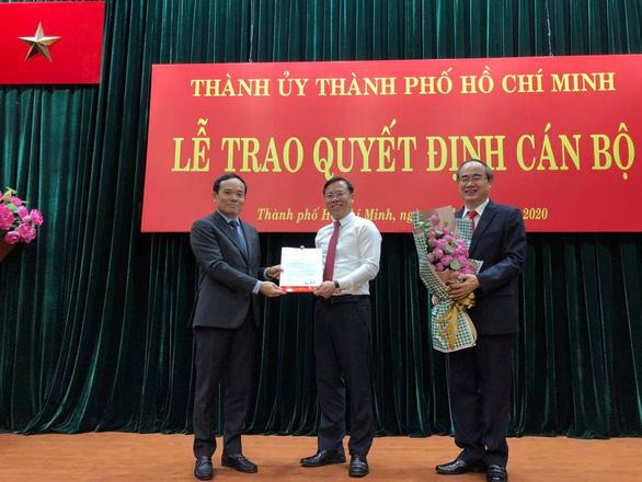 Thư ký Bí thư Nguyễn Thiện Nhân giữ chức Chánh Văn phòng Thành ủy TP.HCM - Ảnh 1.