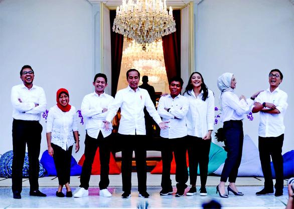 7 bạn trẻ làm cố vấn cho Tổng thống Indonesia để phụng sự tổ quốc - Ảnh 1.