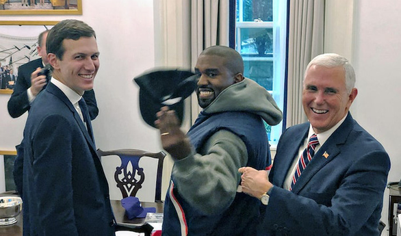 Kanye West phủ nhận Đảng Cộng hòa chi tiền anh tranh cử tổng thống: Tôi còn giàu hơn cả Trump! - Ảnh 4.