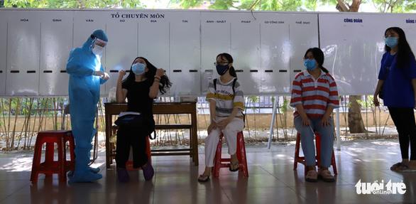 Hơn 10.000 mẫu xét nghiệm của thí sinh thi tốt nghiệp tại Đà Nẵng có kết quả âm tính - Ảnh 1.