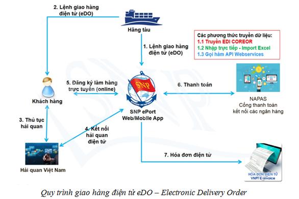 Cảng biển làm thủ tục qua mạng, thanh toán trực tuyến ngừa COVID-19 - Ảnh 1.