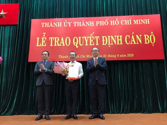 Thư ký Bí thư Nguyễn Thiện Nhân giữ chức Chánh Văn phòng Thành ủy TP.HCM - Ảnh 2.