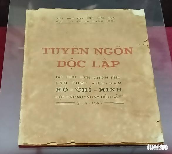 Thêm nhận thức về 6 chữ 'Độc lập - Tự do - Hạnh phúc' trong Quốc hiệu Việt Nam - Ảnh 2.