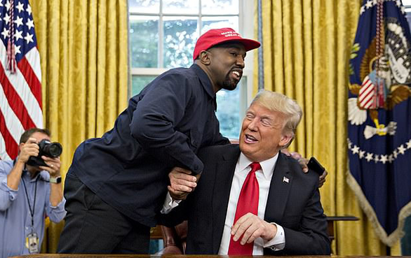 Kanye West phủ nhận Đảng Cộng hòa chi tiền anh tranh cử tổng thống: Tôi còn giàu hơn cả Trump! - Ảnh 2.