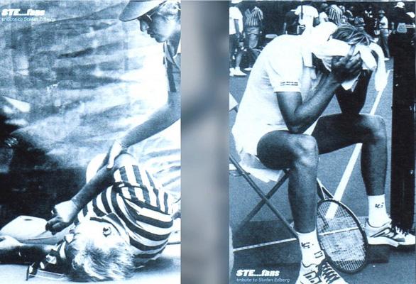 37 năm trước thầy cũ của Federer từng đánh bóng trúng chỗ hiểm khiến trọng tài té tử vong - Ảnh 2.