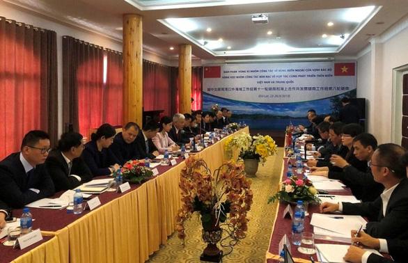 Việt Nam và Trung Quốc đàm phán về vịnh Bắc Bộ, trao đổi về Biển Đông - Ảnh 1.