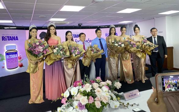 2 hoa hậu làm đại sứ thương hiệu cho RiTANA - Ảnh 3.