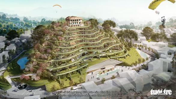 Đề nghị tổ chức hội thảo khoa học đánh giá lại quy hoạch khu trung tâm Hòa Bình - Đà Lạt - Ảnh 1.