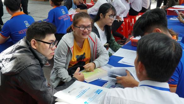 Nhiều đại học có điểm sàn xét tuyển từ 15 đến 18 - Ảnh 1.