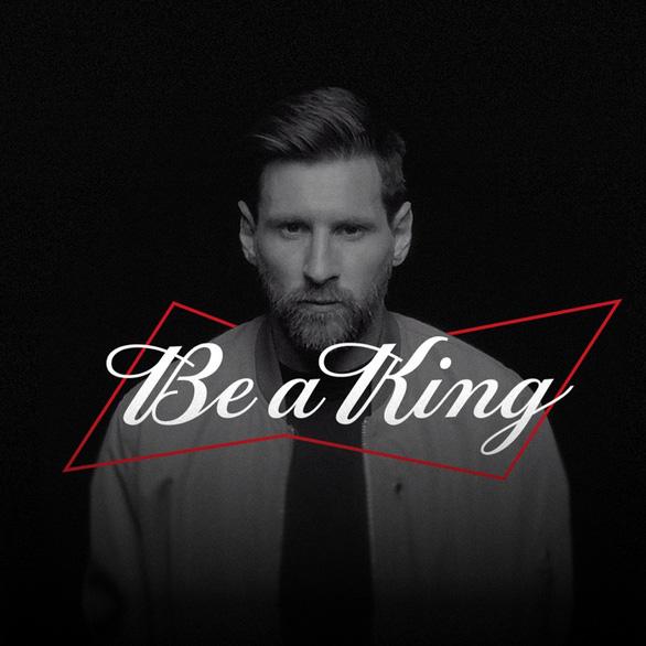 Budweiser đồng hành cùng Messi lan toả thông điệp 'Chất Vua không lùi bước' - Ảnh 4.