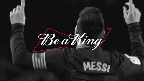 Budweiser đồng hành cùng Messi lan toả thông điệp 'Chất Vua không lùi bước' - Ảnh 5.