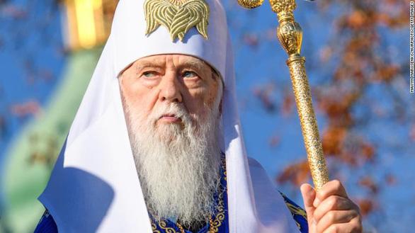 Lãnh đạo nhà thờ Ukraine mắc COVID-19 sau phát ngôn về hôn nhân đồng giới - Ảnh 1.