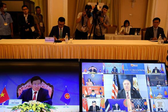 Mỹ quan ngại về 'những hành động gây hấn' của Trung Quốc ở Biển Đông