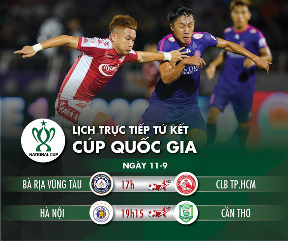 Loại hai đội hạng dưới, CLB TP.HCM và Hà Nội gặp nhau ở bán kết Cúp quốc gia 2020 - Ảnh 11.