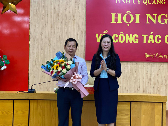 Ông Đặng Văn Minh làm phó bí thư Tỉnh ủy Quảng Ngãi - Ảnh 1.