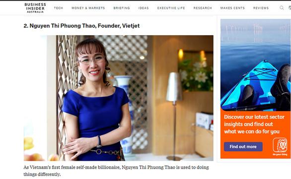 Nữ tỉ phú Nguyễn Thị Phương Thảo là một trong 100 người thay đổi kinh tế châu Á - Ảnh 2.