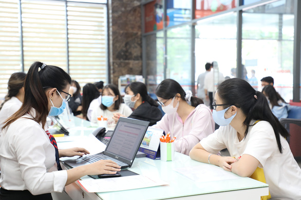 Điểm chuẩn đại học Tài chính - marketing, cao đẳng Kinh tế đối ngoại, Cao Thắng - Ảnh 1.