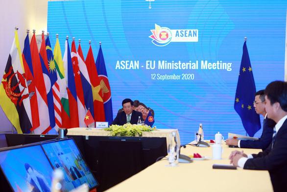 EU và Ấn Độ nhấn mạnh tầm quan trọng của luật pháp quốc tế ở Biển Đông - Ảnh 1.