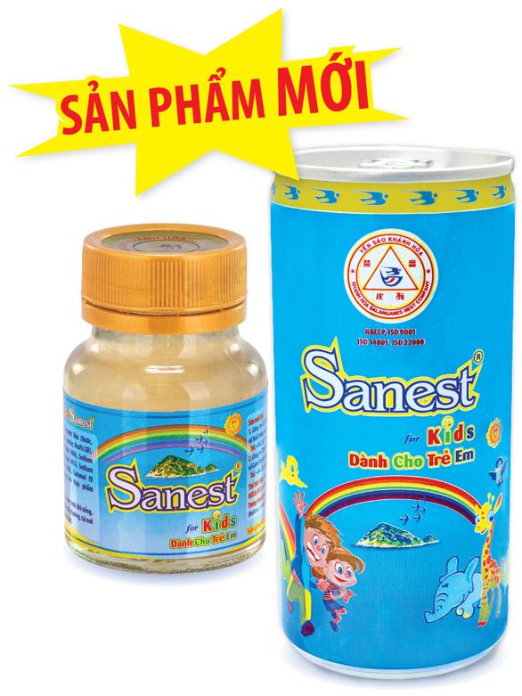 Yến sào Khánh Hòa : Ra mắt sản phẩm nước yến sào Khánh Hòa Sanest đóng lon dành cho trẻ em - Ảnh 2.