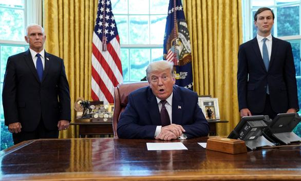 Ông Trump công bố thỏa thuận bình thường hóa quan hệ Bahrain - Israel - Ảnh 1.