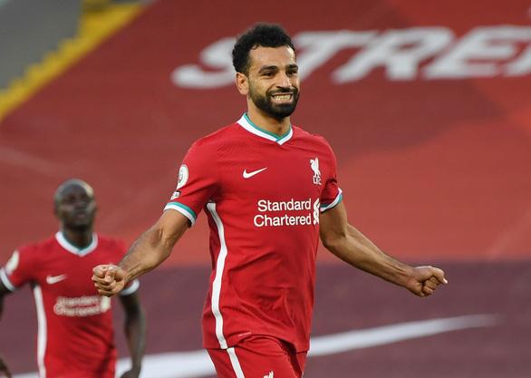 Salah lập hat-trick, Liverpool thắng nghẹt thở Leeds - Ảnh 1.
