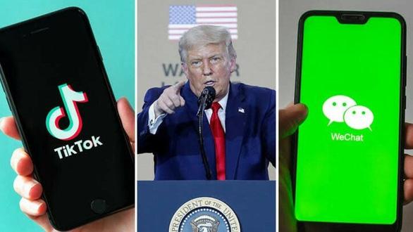 Ông Trump cấm WeChat, công ty Mỹ tại Trung Quốc lại lo - Ảnh 1.