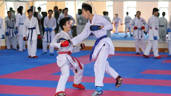 Vào nơi các sao thể thao Việt Nam tập luyện mùa dịch - Ảnh 3.