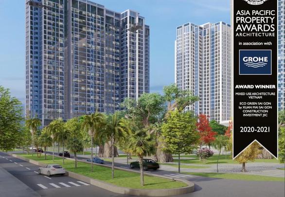 Eco Green Sài Gòn lập hat-trick tại Asia Pacific Property Awards - Ảnh 1.
