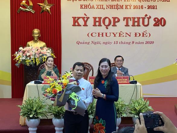Ông Đặng Văn Minh làm chủ tịch UBND tỉnh Quảng Ngãi - Ảnh 1.