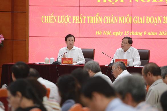 Bộ trưởng Nguyễn Xuân Cường: Thực phẩm trông vào thịt heo thì rủi ro cao - Ảnh 1.
